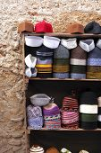 Small Hat Shop In The Medina Of Fes