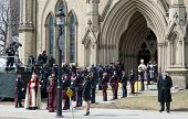 General Ambiance at Jim Flaherty State Funeral in Toronto