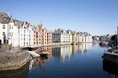 Alesund Norway City Center