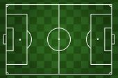 checkered soccer field layout