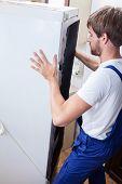 Fixing Fridge At Home
