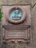 Charles Dickens Wall Plaque Broadstairs Kent England