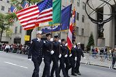 FDNY color guard