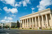 Baku - SEPTEMBER 22, 2007: Former Lenin museum on September 22 in Baku, Azerbaijan. Former Lenin mus
