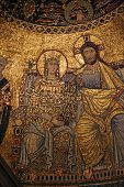 Mosaic, Trastevere, Rome