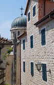 Old City Street In Herceg Novi, Montenegro