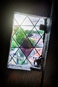 Medieval Tower Window