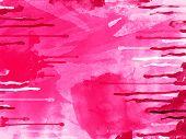 Purple Watercolor Smudges