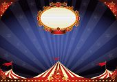 picture of cabaret  - horizontal Circus night background - JPG