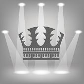 Silhouette Of Crown