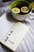 Tea With Lemon An Dscarf