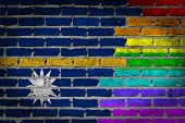Dark Brick Wall - Lgbt Rights - Nauru