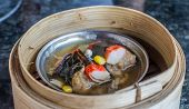 Dimsum in the steam basket