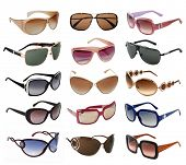 large collection of  fashion sunglasses