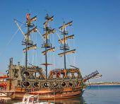 Stylized Pirate Ship