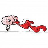 gross cartoon brain cartoon