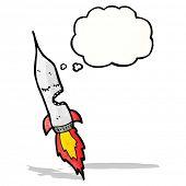 rocket cartoon character