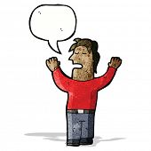 talking man cartoon