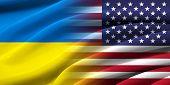 Usa And Ukraine.
