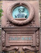 Charles Dickens Wall Plaque Broadstairs Kent