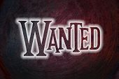 Wanted Concept