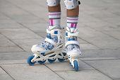 Roller skates.