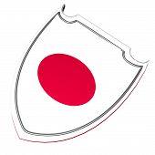 Japan Shield