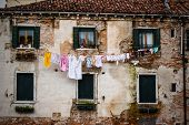 Washing In Venice