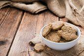 Fresh Baked Oat Cookies