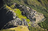 Machu Picchu view high details