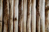 Wooden Logs Wall
