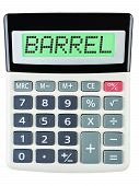 Calculator With Barrel