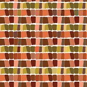 Abstract seamless pattern brown background. Vector