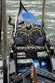 Close Up Of A Gondola In Venice