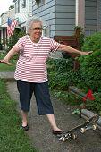 Skateboard Grandmother 2