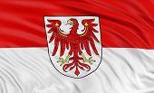 3D Brandenburg Flag