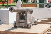 Cannon In The Company Gardens In Cape Town
