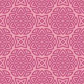 Pink ethnic pattern