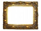 Ornate Gold Photo Frame.