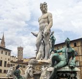 foto of fountains  - Florence  - JPG