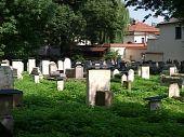 die Remuh-Friedhof in Krakau