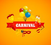 Carnival Flat Background