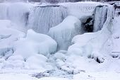 American Falls, Frozen In Winter