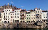Old Town Of Ljubljana , Slovenia