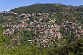 Lagkadia Greek traditional village at Arkadia, Greece