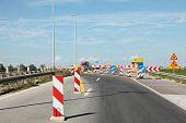 Carretera en reconstrucción