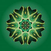 Mandala- Indian arnamentom