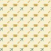 plane and sending pattern