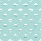 clouds and drops pattern