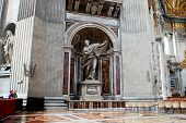 Inside View Of Saint Peter's Basilica On May 31, 2014